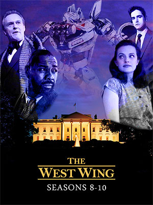 The West Wing Seasons 8-10 cover